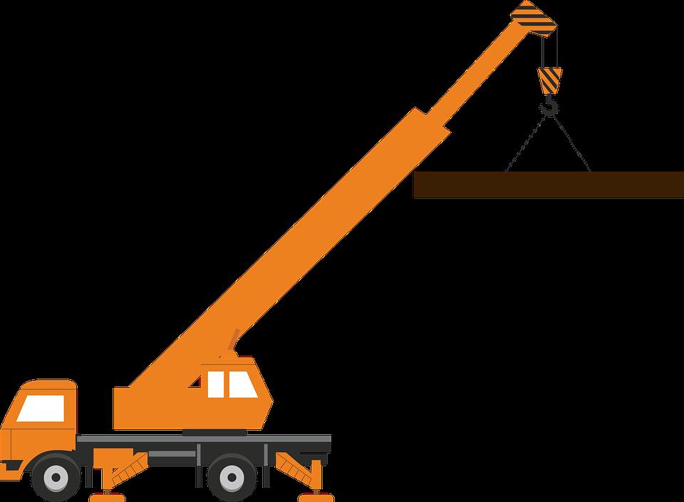 Crane clipart animated #8