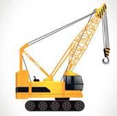 Crane · detailed crane vector