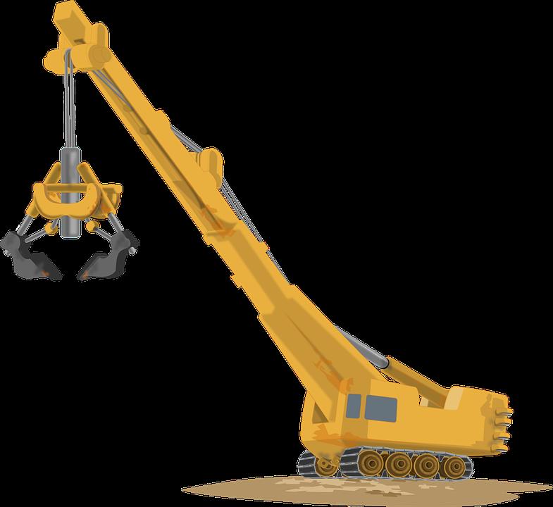 Free vector graphic: Crane, Machine, Heavy Equipment.