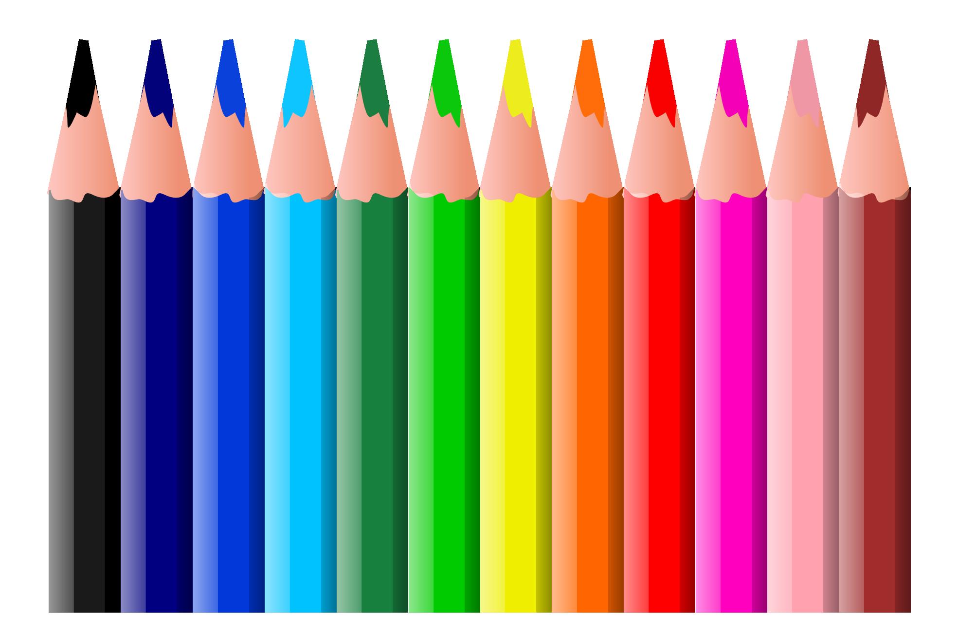 crayola colored pencil clipart