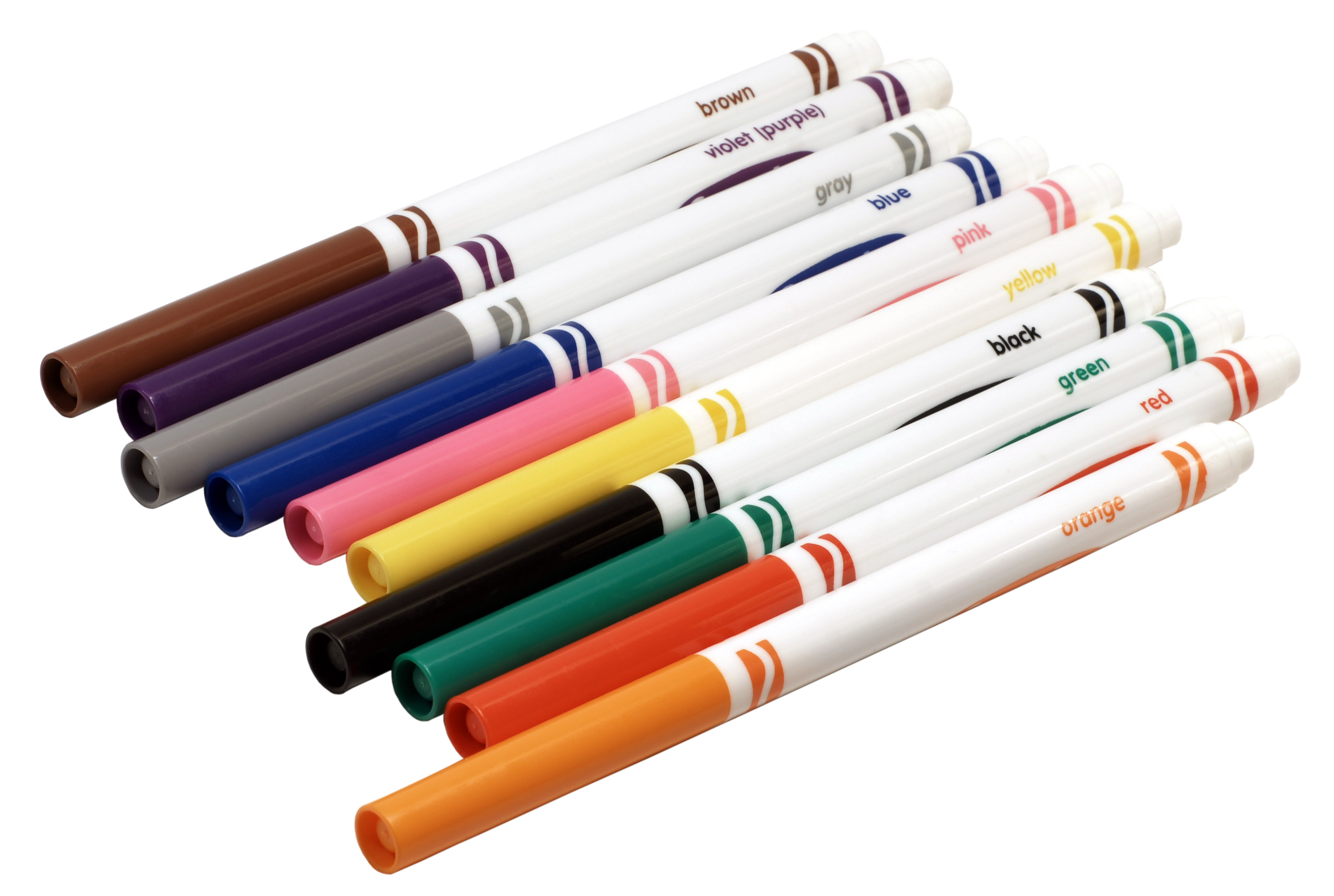 Crayola Markers Clipart #1