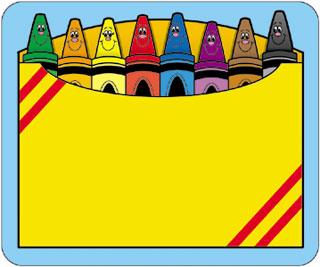 Crayon clipart 7