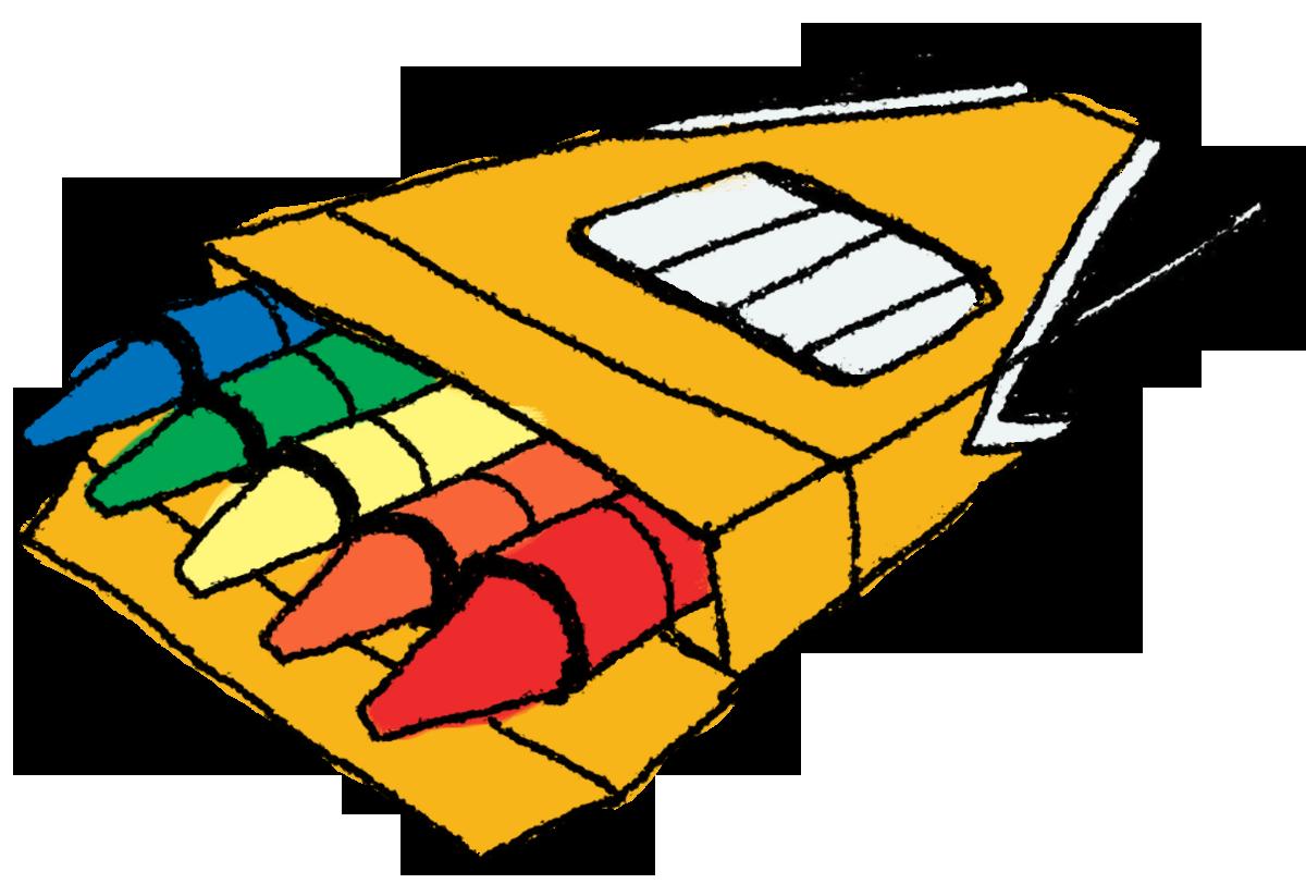 Crayon Clip Art 3