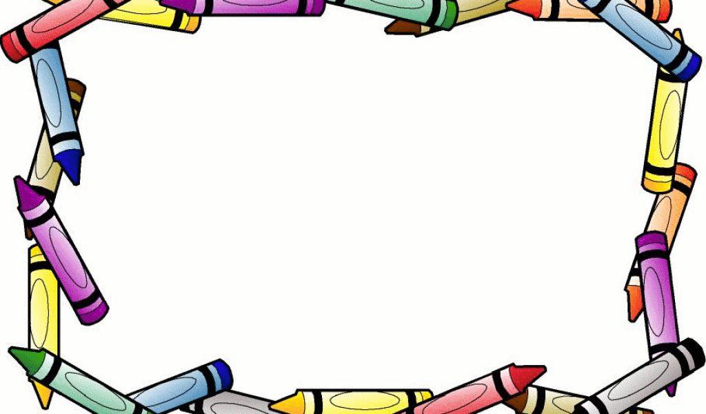 Crayon clipart school #5