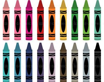 Crayons clipart studio
