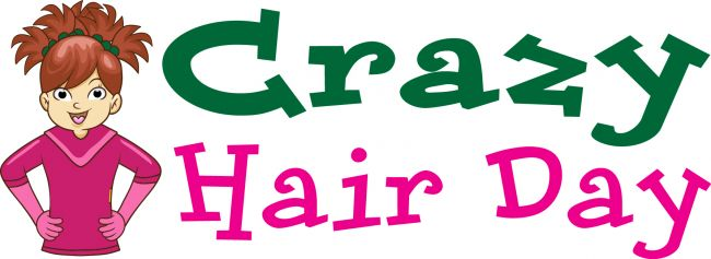 Crazy Hair Day clip art from PTO Today.   Clip Art   Pinterest   Crazy hair, Galleries and Hair