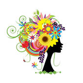 Crazy Hairstyles Clipart