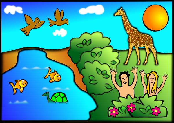 Creation Scene Clip Art At Clker Com Vector Clip Art Online Royalty