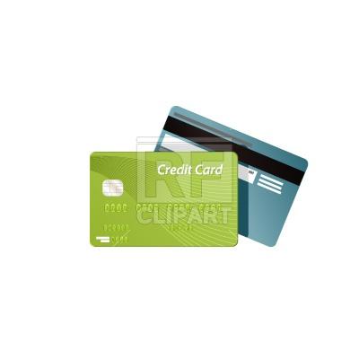 Credit card Royalty Free Vector Clip Art