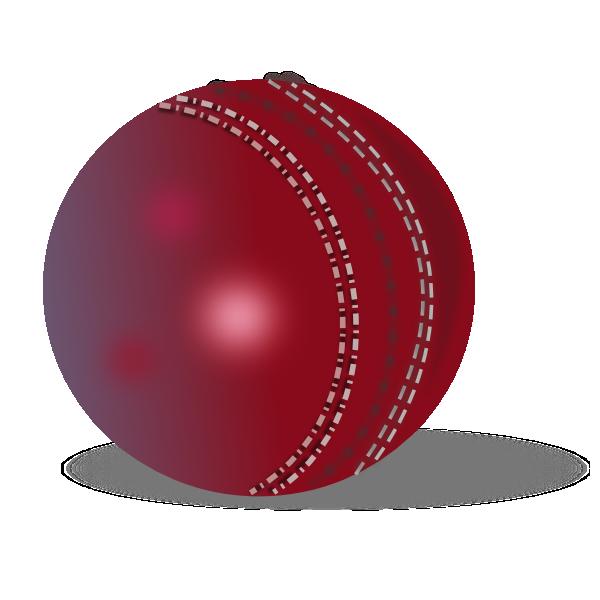 Cricket Ball Clip Art at Clker clipartlook.com - vector clip art online, royalty free u0026  public domain