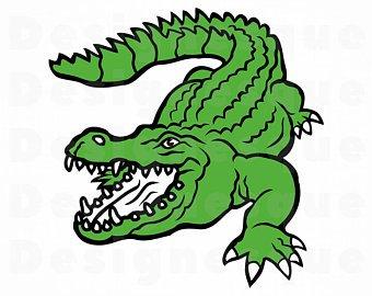 Crocodile SVG, Alligator Svg, Crocodile Clipart, Crocodile Files for  Cricut, Crocodile Cut Files For Silhouette, Crocodile Dxf, Png, Eps Svg
