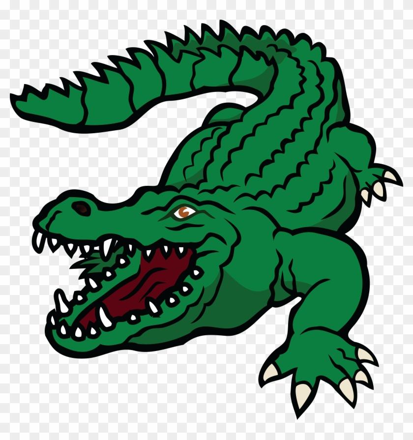 Free Clipart Of A Crocodile - Crocodile Clipart