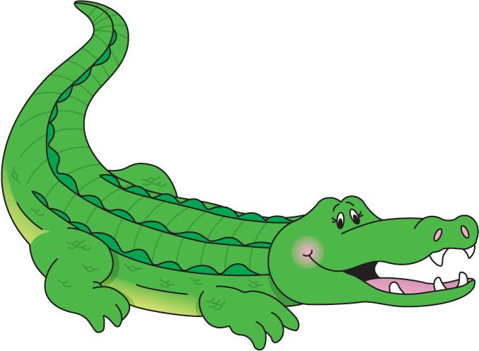 Free Crocodile Clipart #1