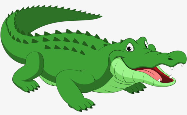 green crocodile, Crocodile Clipart, Green Crocodile Leather, Crocodile PNG  Image and Clipart