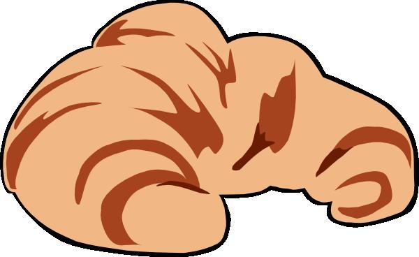 Croissant Clip Art At Clker Com Vector Clip Art Online Royalty Free
