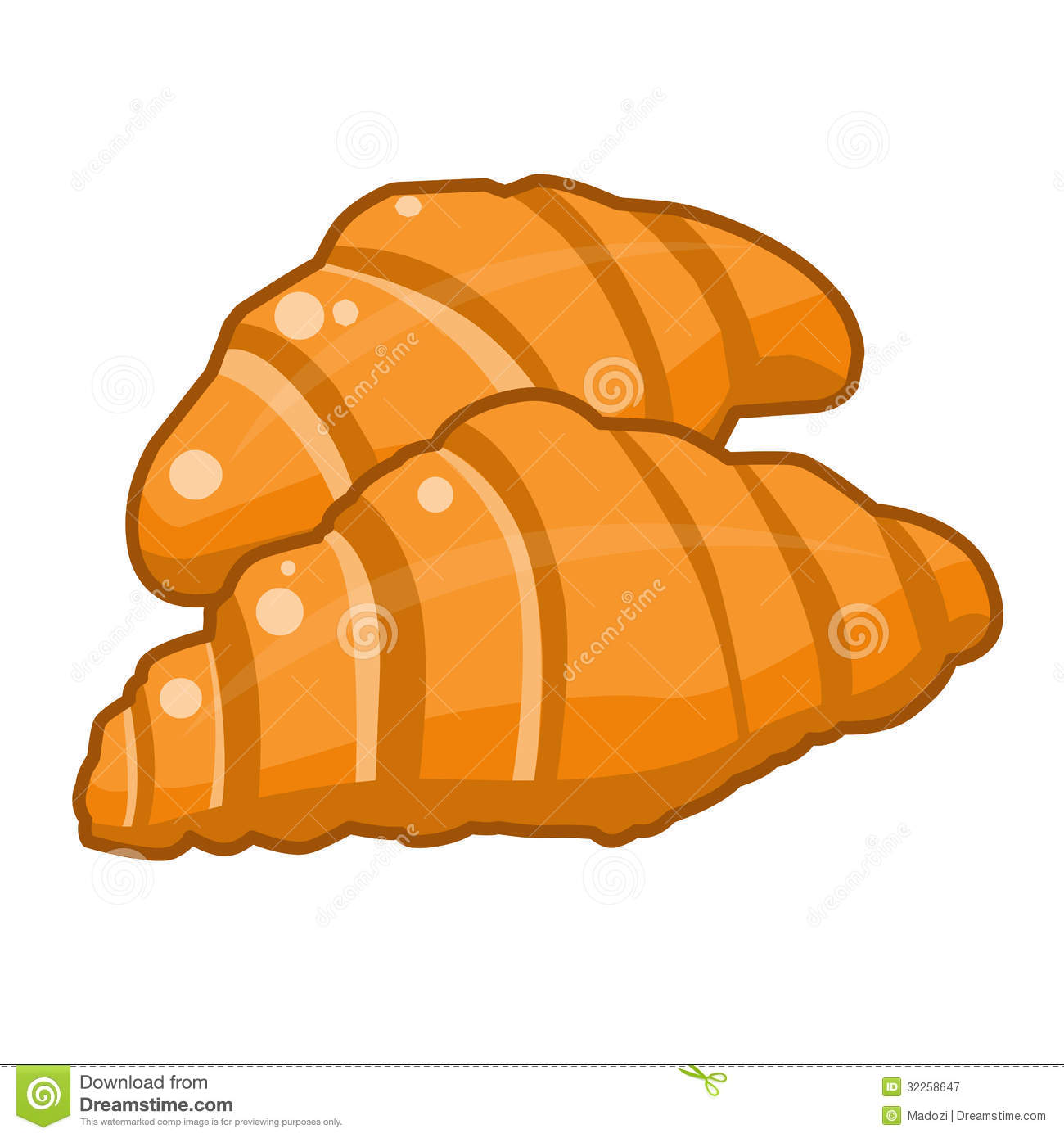 Croissant Clipart Cake Ideas And Designs