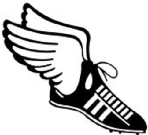 cross country running clipart