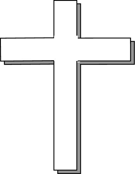 Cross Clip Art Black And White | Clipart library - Free Clipart Images