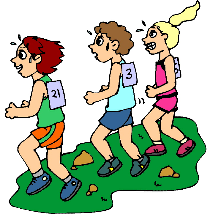 707x720 Cross Country Clip Art