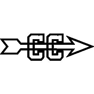 Cross country clip art 3