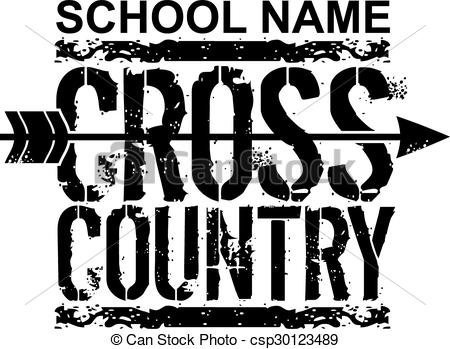 Cross Country Vector