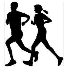 Race clipart cross country running #3