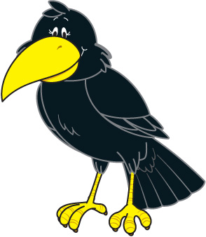 Crow Free Clipart #1