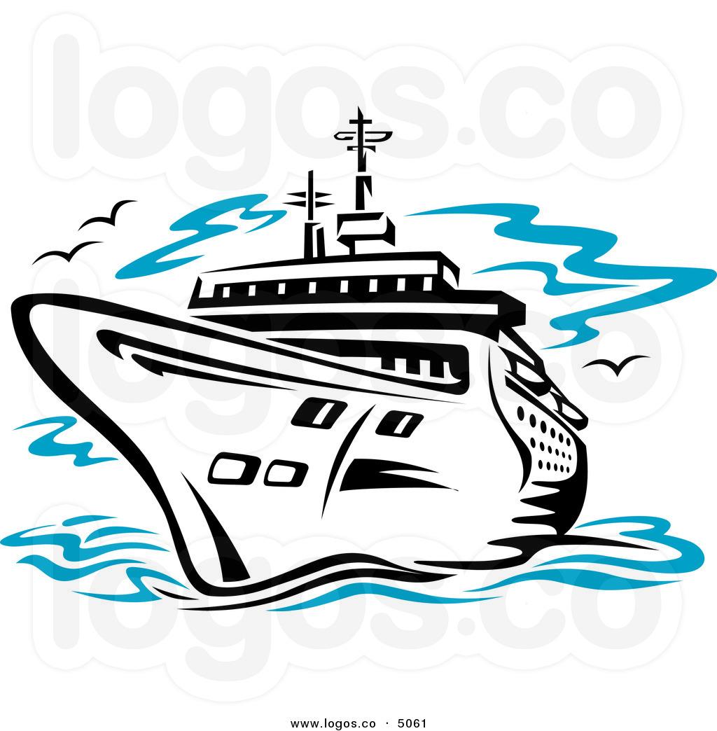 Cruise Ship At Sea Travel Logo Clipart Panda Free Clipart Images