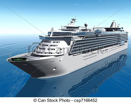 Cruise ship Clip Artby ...