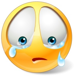 Sad Crying Clipart #1
