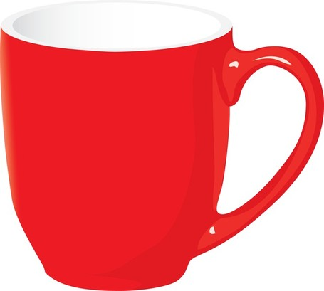Mug clipart polka dot #3