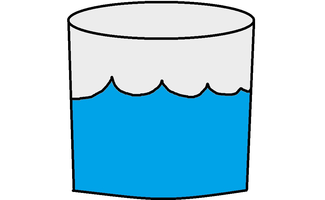 Cup Of Water Clipart #17117
