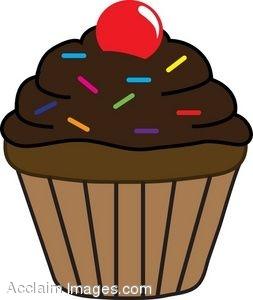Cupcake Clip Art to Download .