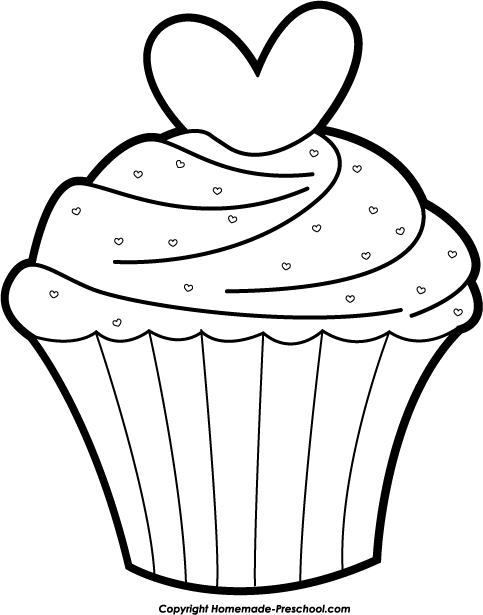 Cupcakes Clipart Black And White Cupcake Black And White Cupcake Clipart  Black And White Free Plant Clipart