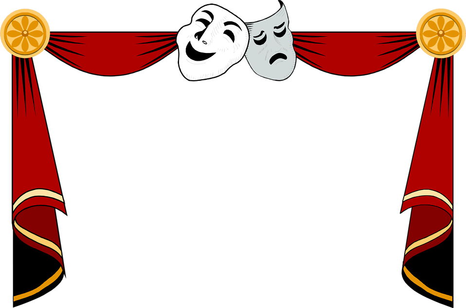 Curtains Curtains Theater Artists Curtains Clip Art