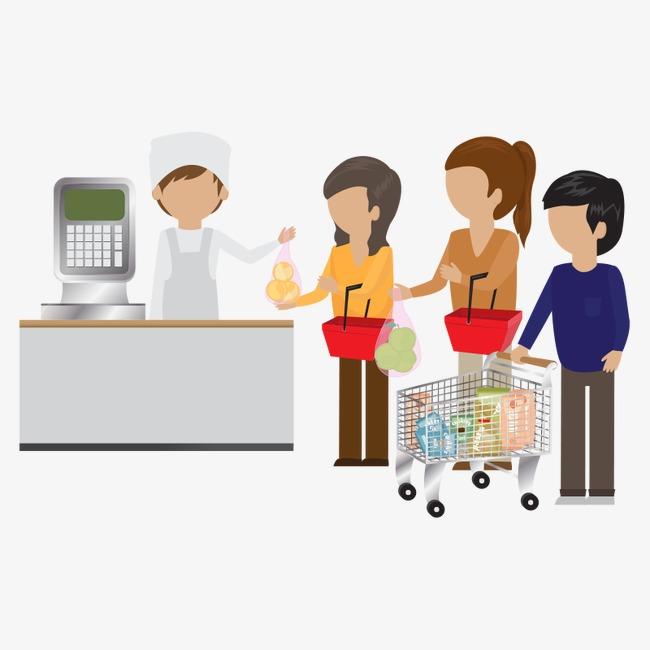 supermarket people,customer, Supermarket People, Customer, Supermarket  Staff PNG Image and Clipart