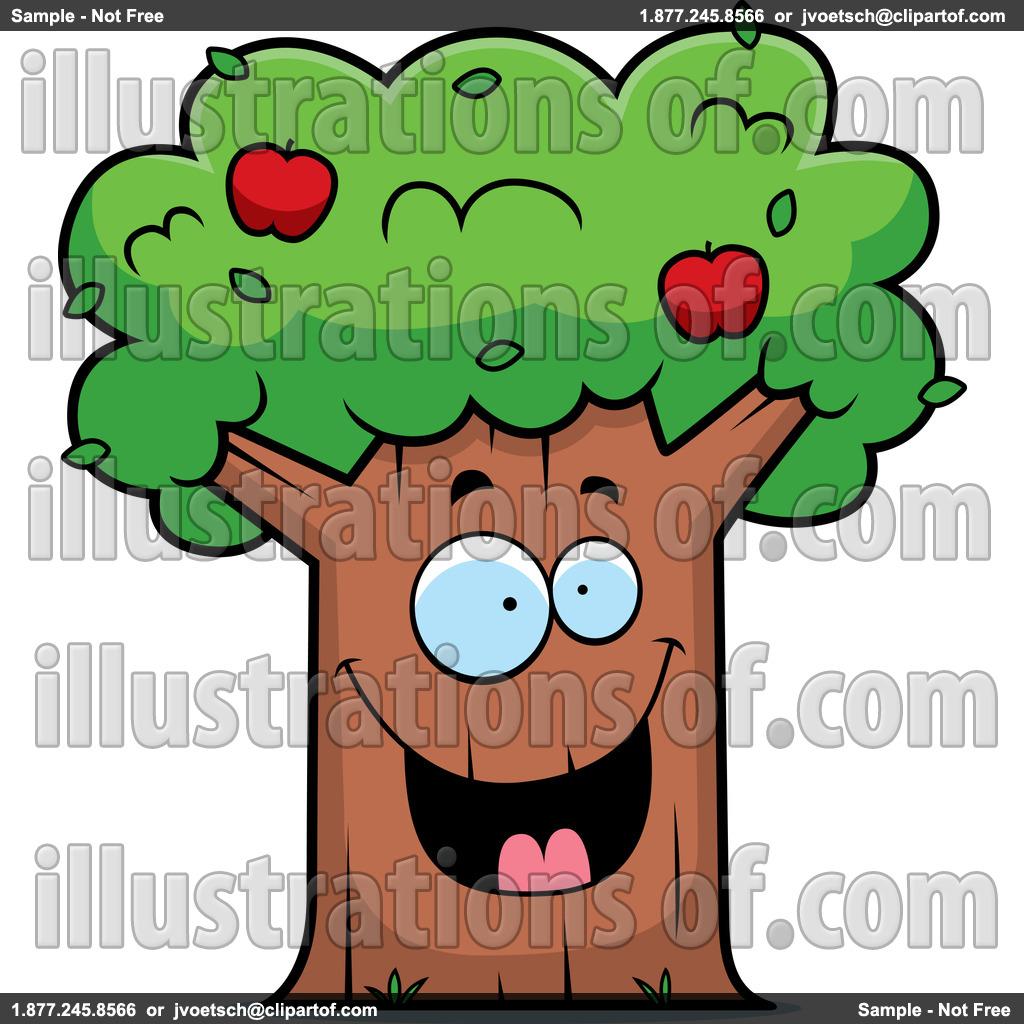 cute apple basket clipart