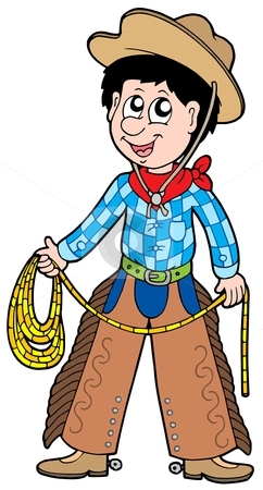 cute cowboy clipart
