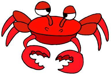 cute crab clipart