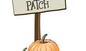 cute pumpkin patch clipart