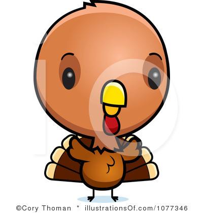 cute turkey clipart