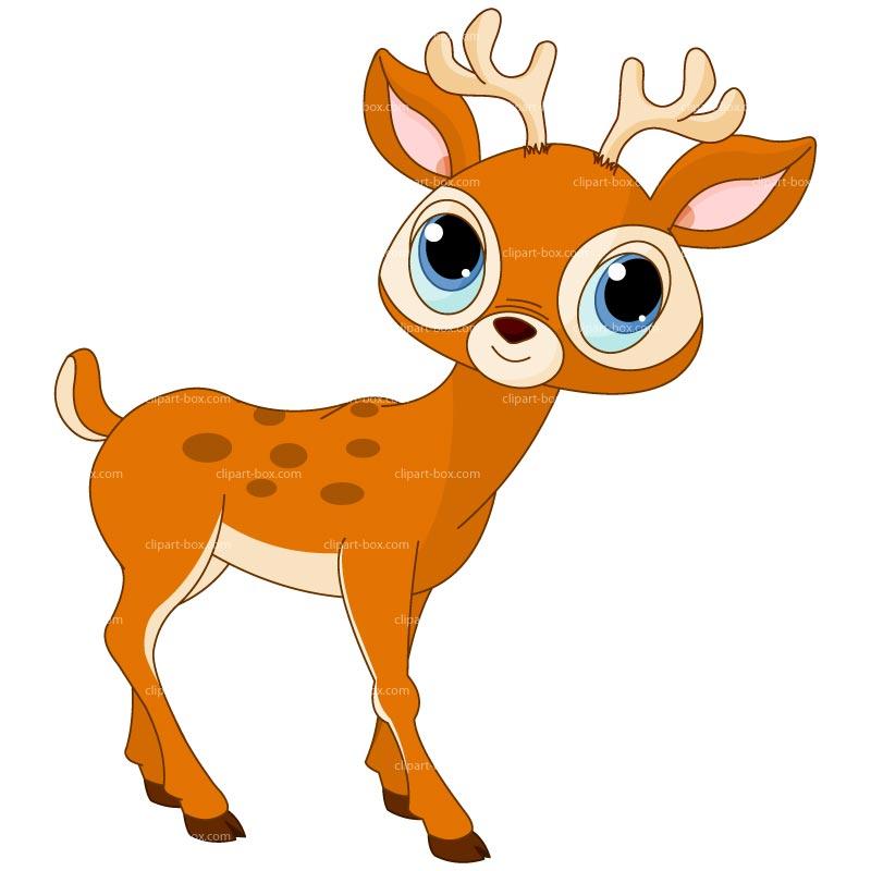 Cute Baby Deer Clipart .