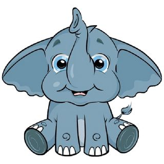 Cute Baby Elephant Clip Art   Baby Elephant Page 3 - Cute Cartoon Elephant Clip Art