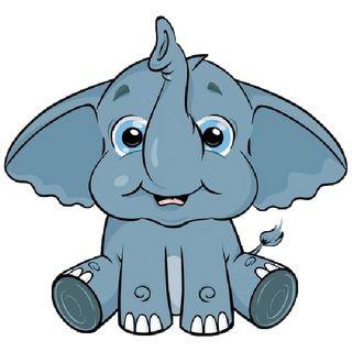 Cute Baby Elephant Clip Art | Baby Elephant Page 3 - Cute Cartoon Elephant Clip Art