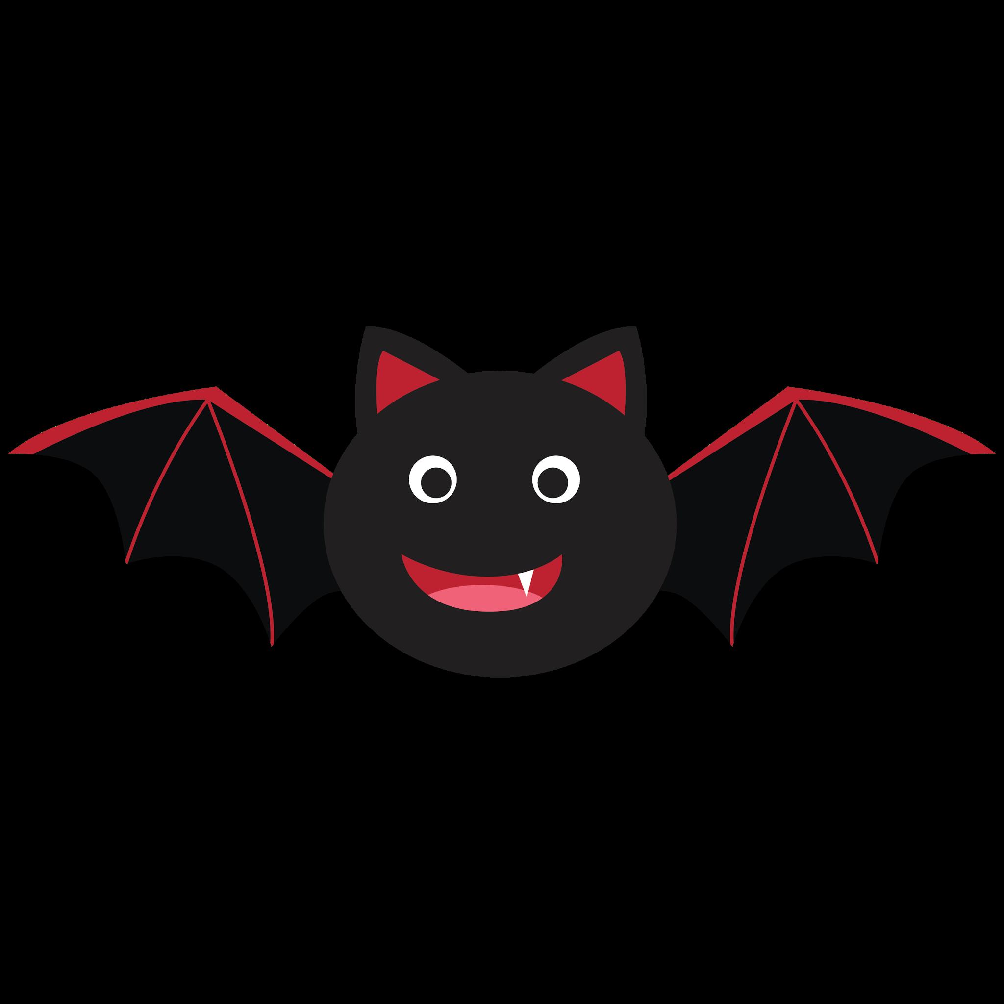 Cute Bat Clipart #1