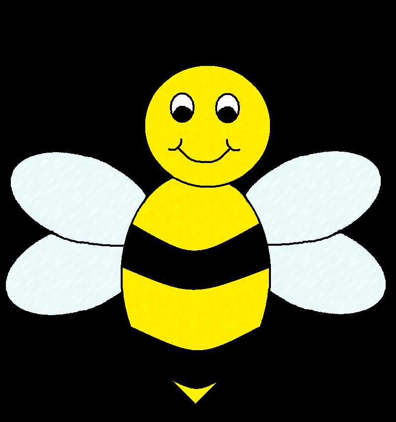 Cute bee clipart free clipart .