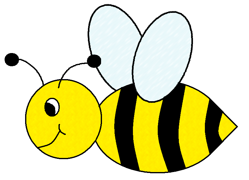 Cute bee clipart free clipart images