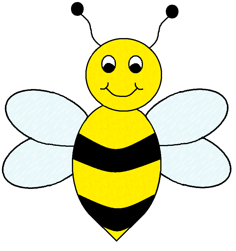 Cute bee clipart free clipart images clipartwiz 2