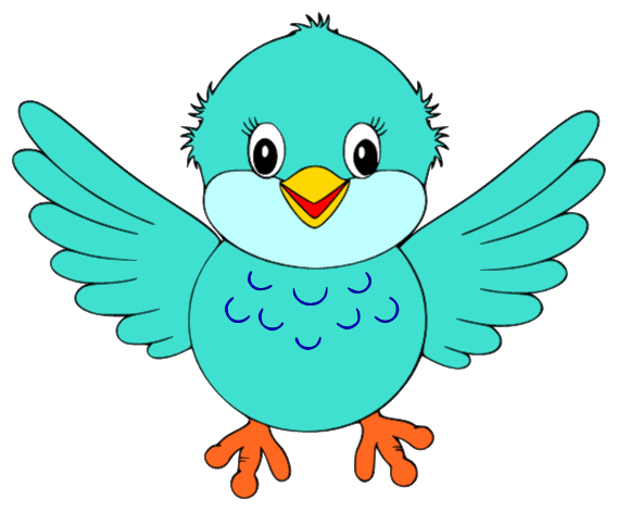 Cute Bird Clipart