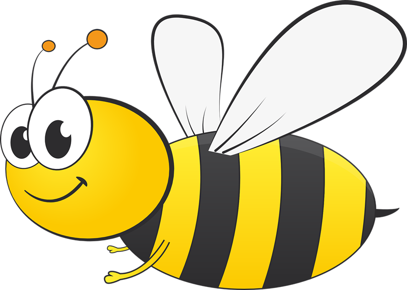 Cute busy bee clipart; Cute bee clip art ...